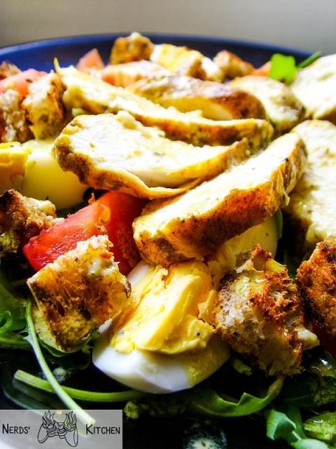 salatka-z-kurczakiem-i-rukola