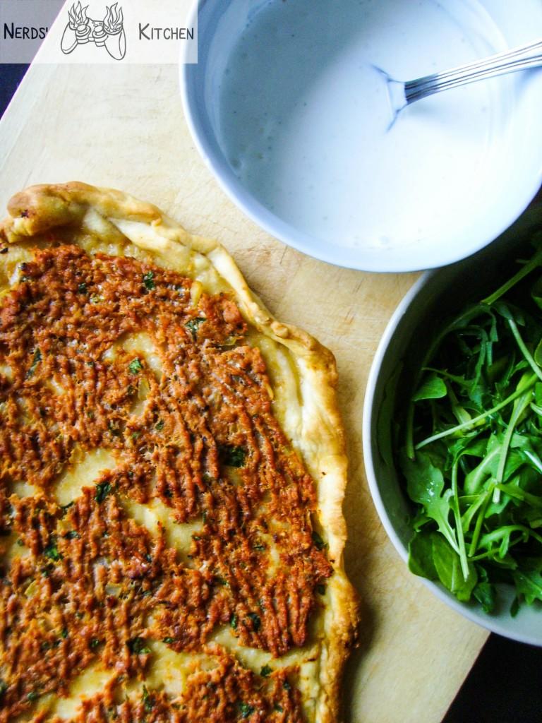 LAHMACUN czyli TURECKA PIZZA