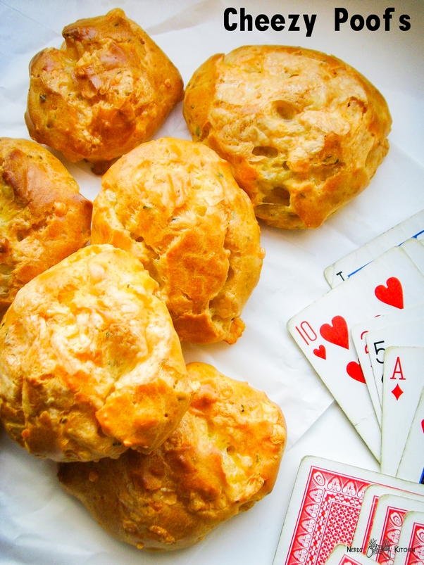cheezy poofs - fallout - ptysie serowe gougeres m