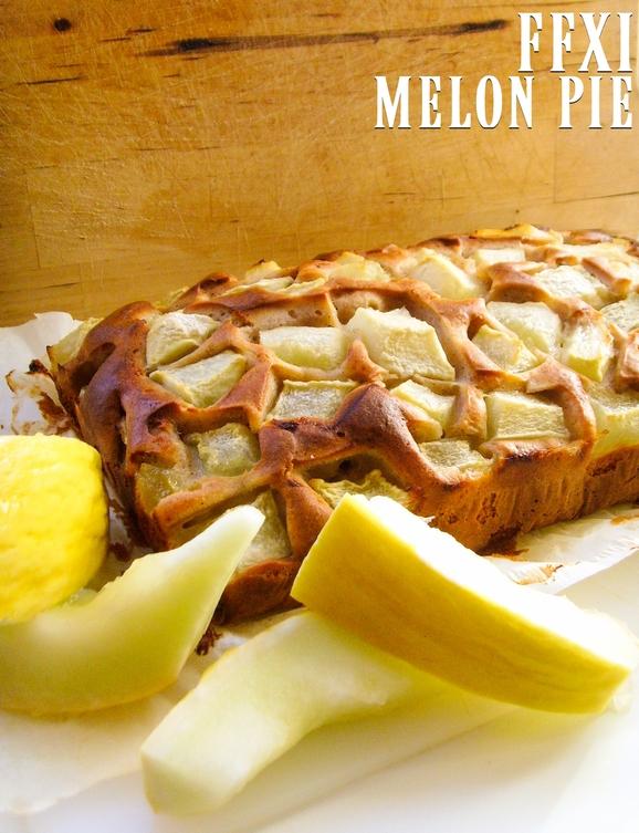 melon pie - ffxi - ciasto jogurtowe z melonem