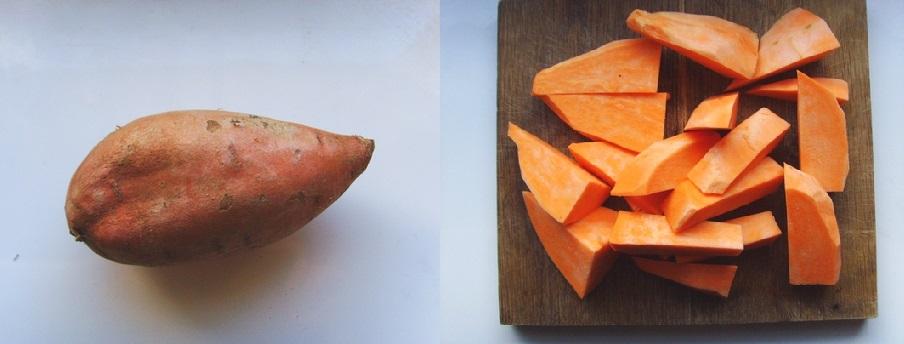 sweet potato bread - world of warcraft - chlebek ze słodkich ziemniaków z solonym karmelem (1)
