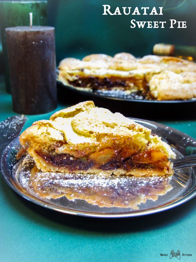 rauatai sweet pie - pillars of eternity - kruche ciasto z owocami i czekolada m