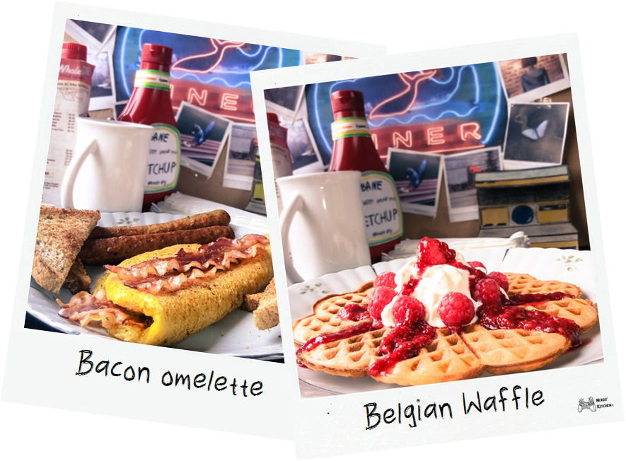 bacon omelette vs belgian waffle life is strange