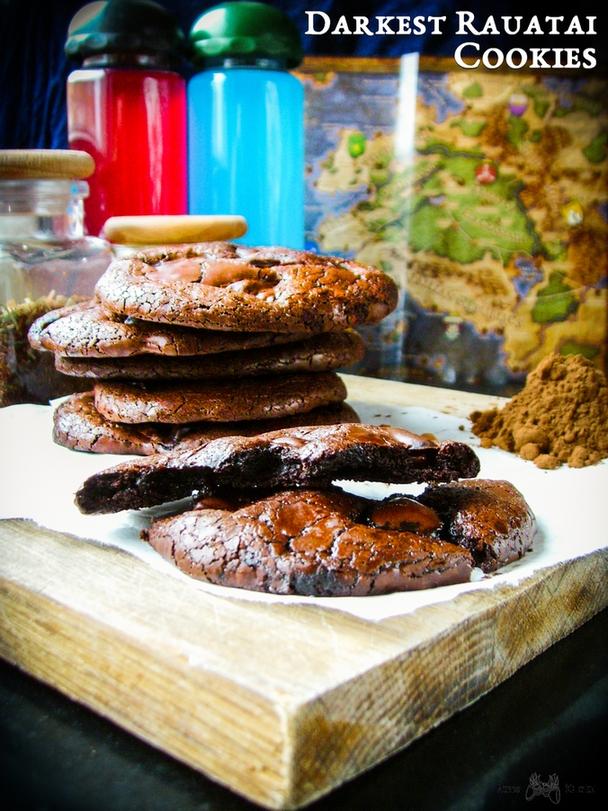 pillars of eternity - darkest rauatai cookies - czekoladowe ciastka bez maki - 1 - m