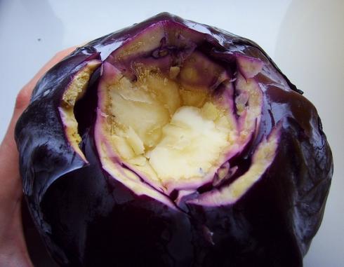 ognisty gulasz Snafa- Gothic II Noc Kruka - pieczone mięso w otoczce z czerwonej kapusty 1