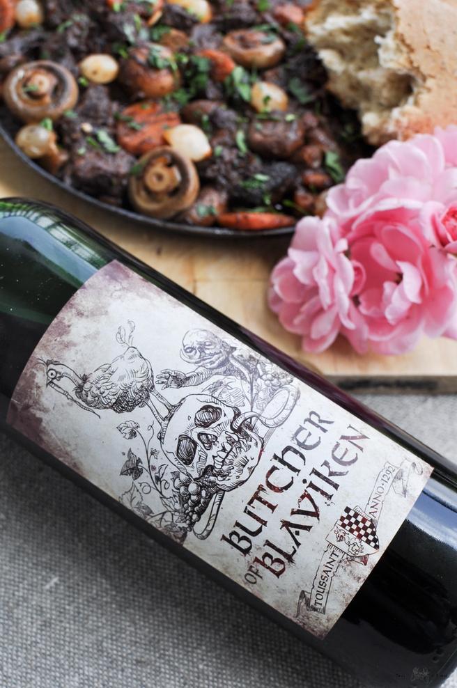 Boeuf bourguignon - Wiedźmin 3 Dziki Gon - Krew i Wino - wołowina po burgundzku - 02