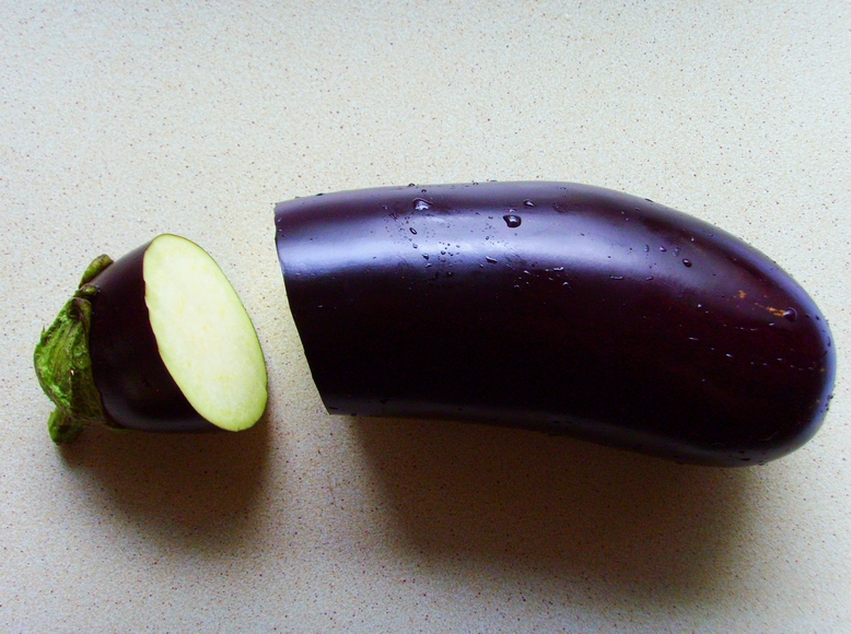 Stuffed Eggplant - Don't Starve - nadziewany bakłażan z farszem grzybowo-warzywnym (1)