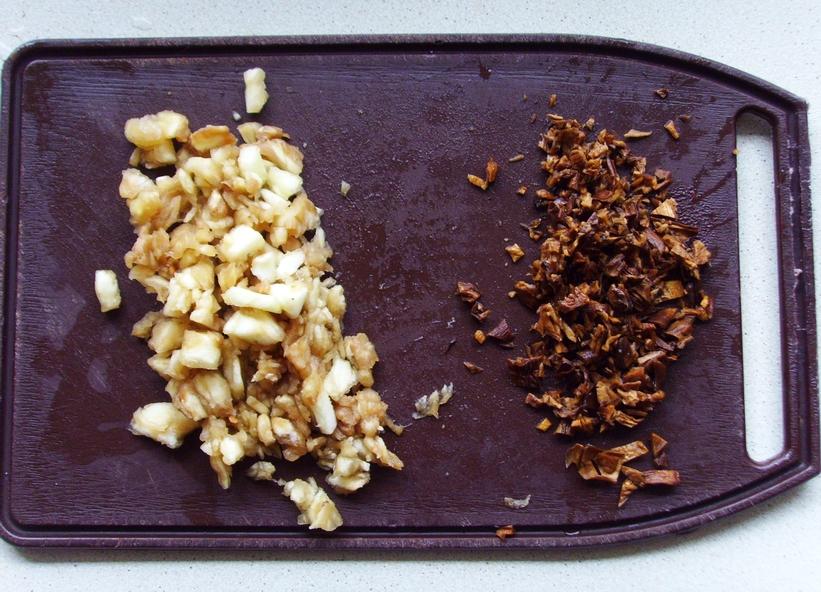Stuffed Eggplant - Don't Starve - nadziewany bakłażan z farszem grzybowo-warzywnym (4)