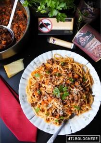 Spaghetti Bolognese Hitman episode 2 Sapienza makaronz sosem mięsnym na winie